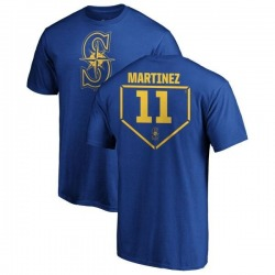 Men's Edgar Martinez Seattle Mariners RBI T-Shirt - Royal