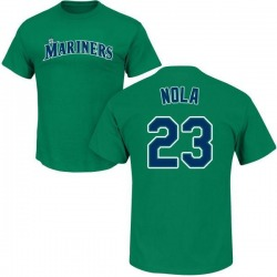 Youth Austin Nola Seattle Mariners Roster Name & Number T-Shirt - Green