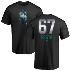 Youth Matt Festa Seattle Mariners Midnight Mascot T-Shirt - Black
