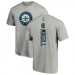 Youth Matt Magill Seattle Mariners Backer T-Shirt - Ash